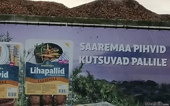 Saaremaa pihvid kutsuvad pallile