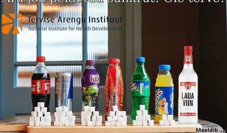 Ära joo peidetud suhkrut! Ole teve!